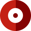 Multimedia, button, record, Circular, recording, Metrize, Music And Multimedia, Circle, rec, Dot, ui Firebrick icon
