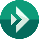 Direction, Multimedia Option, Reload, reply all, Orientation, interface, Multimedia, Arrows, reply DarkCyan icon