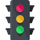 stop, light, Business, Traffic light, Road sign, buildings, Signaling, Stop Signal DarkSlateGray icon