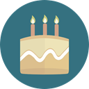 birthday, cake, food, Candles, Bakery, Birthday Cake, Cakes, Birthday And Party Icon