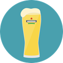 Bar, Alcohol, food, glass, beer, pub, Pint, Alcoholic Drink, Food And Restaurant CadetBlue icon
