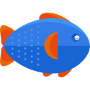 Foods, Meats, Animal, food, fish, Animals, Supermarket, meat, fishes RoyalBlue icon