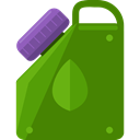 miscellaneous, Gas, Can, transport, petrol, gasoline ForestGreen icon