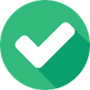 Shapes And Symbols, success, interface, tick, Checked MediumSeaGreen icon