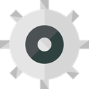 Gear, settings, miscellaneous, configuration, cogwheel, Tools And Utensils LightGray icon
