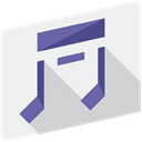 music, interface, music player, song, musical note, Quaver, Music And Multimedia WhiteSmoke icon