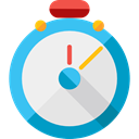 time, miscellaneous, stopwatch, timer, interface, Chronometer, Wait, Tools And Utensils WhiteSmoke icon
