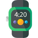 watch, Coding, technology, electronics, wristwatch, smartwatch, Time And Date DarkSlateGray icon