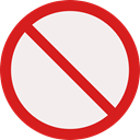 forbidden, prohibition, Not Allowed, Signaling Icon
