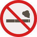 forbidden, no smoking, Smoke, Cigarette, prohibition, signs, Signaling, Healthcare And Medical Linen icon