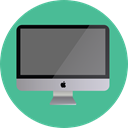 Tv, Computer, monitor, screen, television, technology, electronics Icon