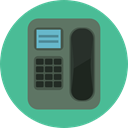 telephone, technology, Conversation, Communications, phone call, Telephone Call, phone, Call CadetBlue icon