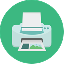 technology, electronics, printing, Tools And Utensils, paper, Print, printer, Ink MediumSeaGreen icon