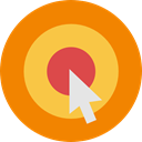 Arrows, Arrow, sport, Target, objective, Archery, weapons, archer, Sports And Competition DarkOrange icon
