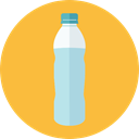 Healthy Food, Hydratation, Food And Restaurant, drink, food, water, Bottle SandyBrown icon