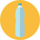 drink, food, water, Bottle, Healthy Food, Hydratation, Food And Restaurant SandyBrown icon