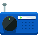 sound, Microphone, radio, technology, electronics, vintage, Communications, Voice Recording RoyalBlue icon
