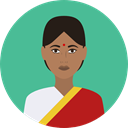 Avatar, indian, traditional, Culture, Cultures, user CadetBlue icon