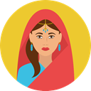 user, Avatar, traditional, Culture, Sikh, Cultures Goldenrod icon