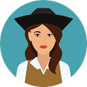 user, Avatar, pirate, traditional, Culture, Cultures CadetBlue icon