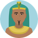 user, Avatar, traditional, Culture, Egyptian, Cultures LightBlue icon