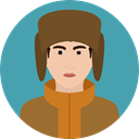 russian, traditional, Culture, Cultures, user, Avatar CadetBlue icon