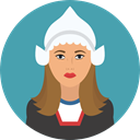 user, Avatar, holland, traditional, Culture, Cultures Icon