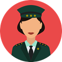 job, profession, Occupation, security, police, user, Avatar Tomato icon