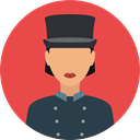 profession, Doorman, Professions And Jobs, user, profile, Avatar, job Tomato icon