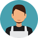 job, profession, Dustman, user, profile, Avatar CadetBlue icon