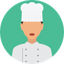 profile, Avatar, job, Chef, profession, Professions And Jobs, user CadetBlue icon