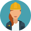 user, Avatar, job, worker, profession, Occupation, Professions And Jobs CadetBlue icon