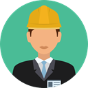 Avatar, job, worker, profession, Occupation, Professions And Jobs, user CadetBlue icon