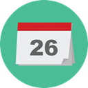 Time And Date, Calendar, time, date, Schedule, interface, Administration, Organization, Calendars CadetBlue icon