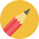 writing, Tools And Utensils, Edit Tools, Edit, pencil, Draw SandyBrown icon