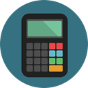 buttons, finances, Business And Finance, calculator, Business, education, calculate, tool SeaGreen icon