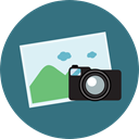 image, photo, picture, interface, landscape, Files And Folders SeaGreen icon