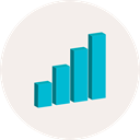 graph, Business, Stats, statistics, graphic, Bar chart, Business And Finance, Seo And Web Linen icon