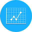monitor, screen, Business, Stats, Laptop, Analytics, graphic, Seo And Web DeepSkyBlue icon