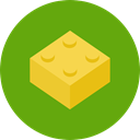 Game, gaming, Bricks, Construction, Toy OliveDrab icon