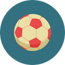 Game, Football, soccer, equipment, sports, Team Sport, Sports And Competition SeaGreen icon