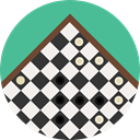 strategy, Chess Game, Chess Board, Sports And Competition CadetBlue icon