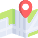Seo And Web, placeholder, Geography, Maps And Flags, Map, Orientation, location, position Lavender icon