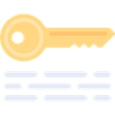 Key, Access, passwords, keywords, Tools And Utensils, Door Key, Seo And Web Black icon