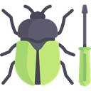 insect, tool, Screwdriver, bug, Animals, computing, Seo And Web DarkKhaki icon