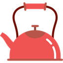 Tools And Utensils, Coffee Pot, tea, kettle, hot drink, kitchenware Tomato icon