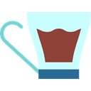 Coffee, tea, commerce, coffee cup, hot drink, Coffee Shop LightCyan icon