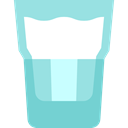 Coffee, tea, glass, coffee cup, hot drink, Tools And Utensils, Coffee Shop LightBlue icon