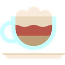 Coffee, food, coffee cup, hot drink, Coffee Shop, Mocha Black icon