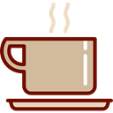 tea, food, coffee cup, hot drink, Coffee Shop, Coffee Tan icon
